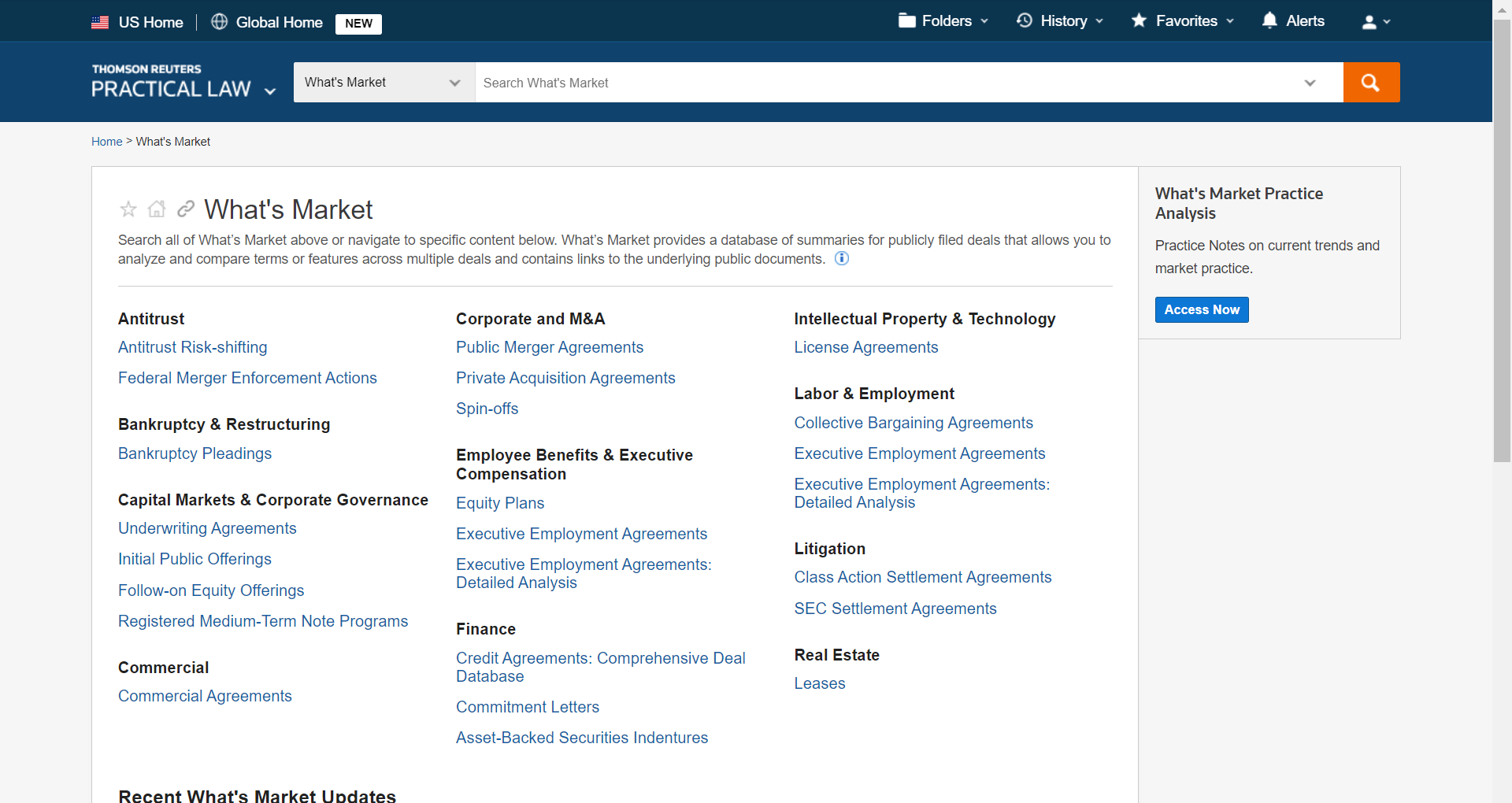 Screenshot of Quick Check in Westlaw Edge